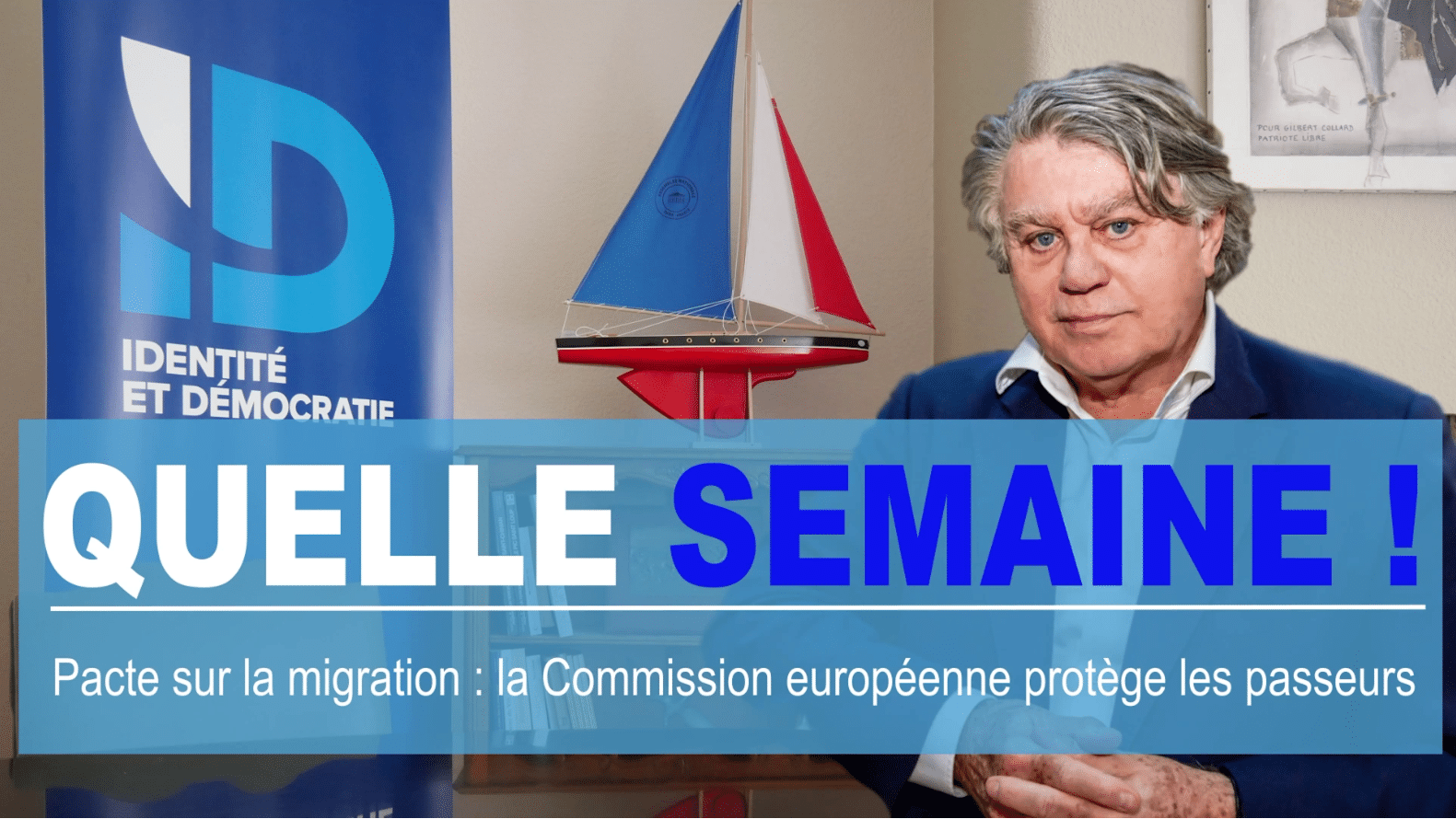 Quelle semaine ! Pacte sur la migration : la Commission européenne protège les passeurs