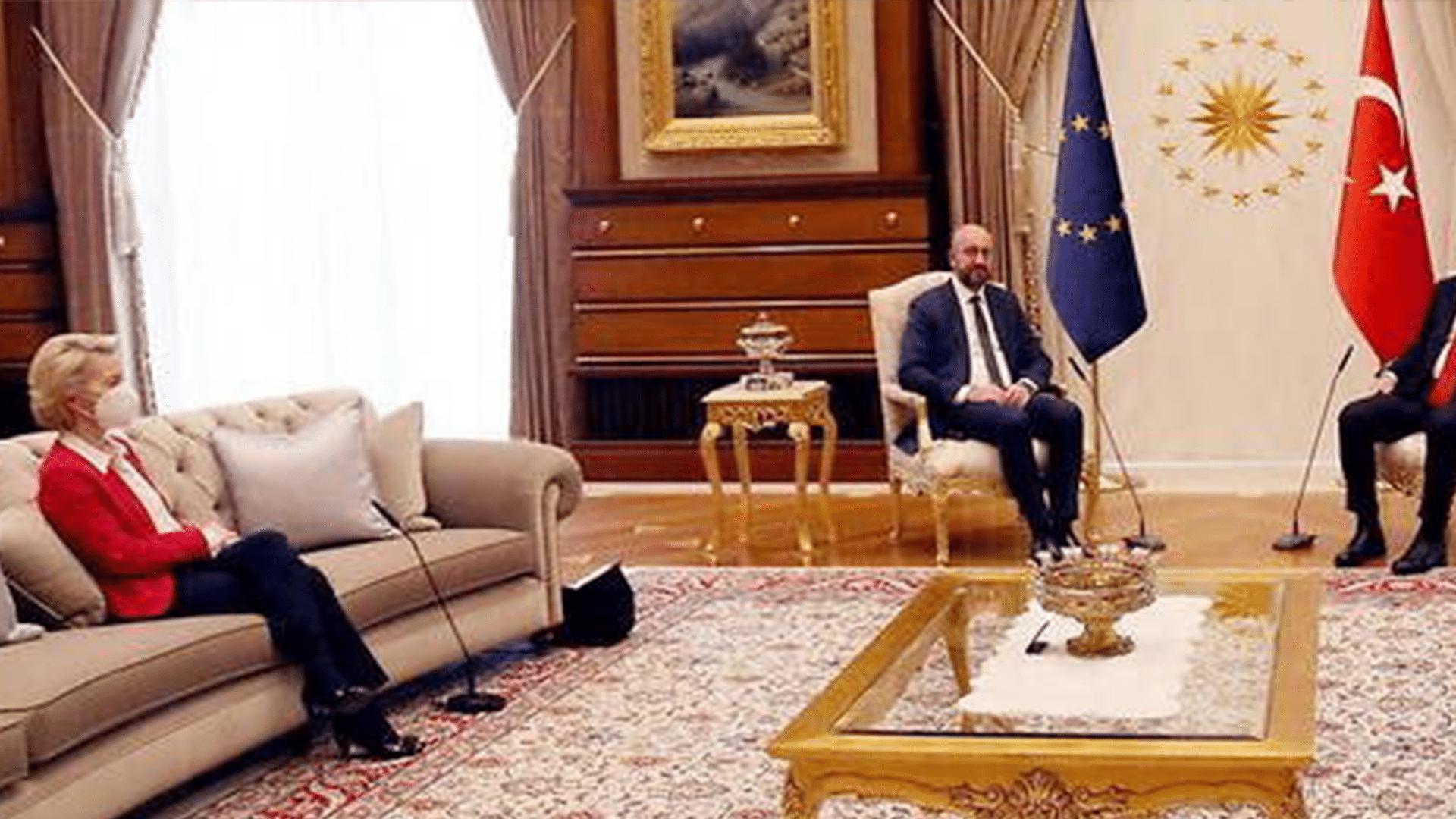 «Sofagate»: la diplomatie européenne a le cul entre deux chaises!